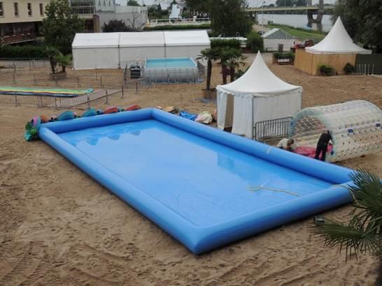 Bassin + tente